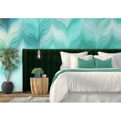 Emerald Blue Waves