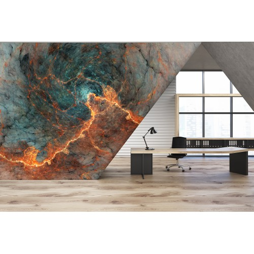 Marble on Fire